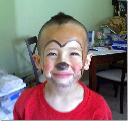 Maquillaje de gorila (13)