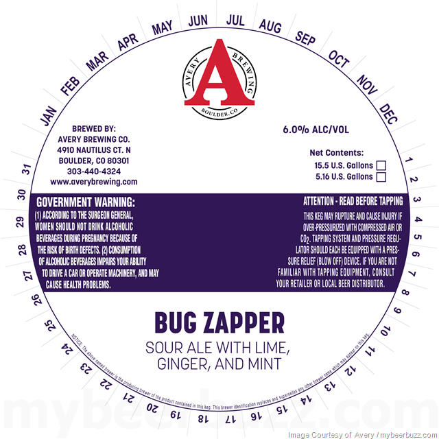 Avery Brewing - Bug Zapper Sour Ale