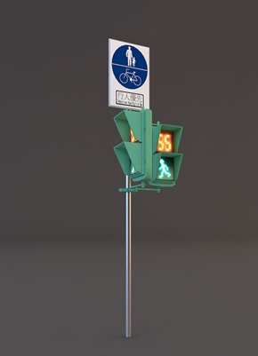 Taipei Traffic Light 3D