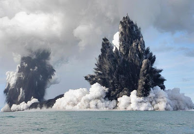 Undersea Volcano - Coast of Tonga (March 2009)