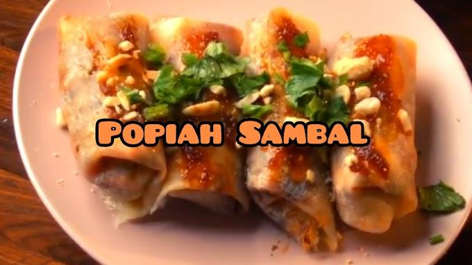 Resepi Popiah Sambal