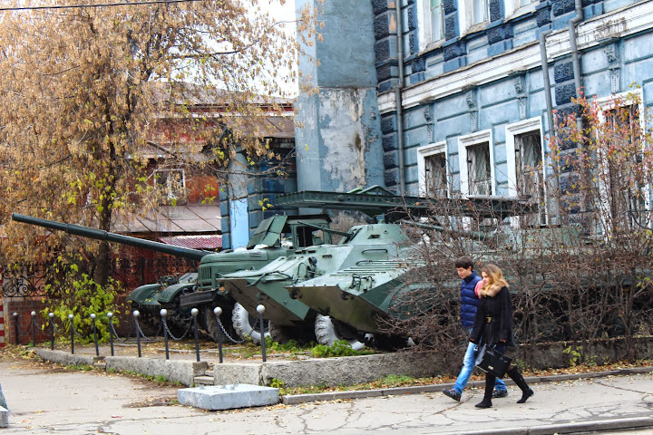soviet tanks irkutsk russia