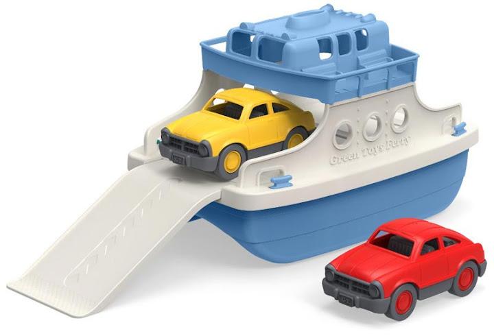 Contenido de Green Toys® Ferry con Minicoches