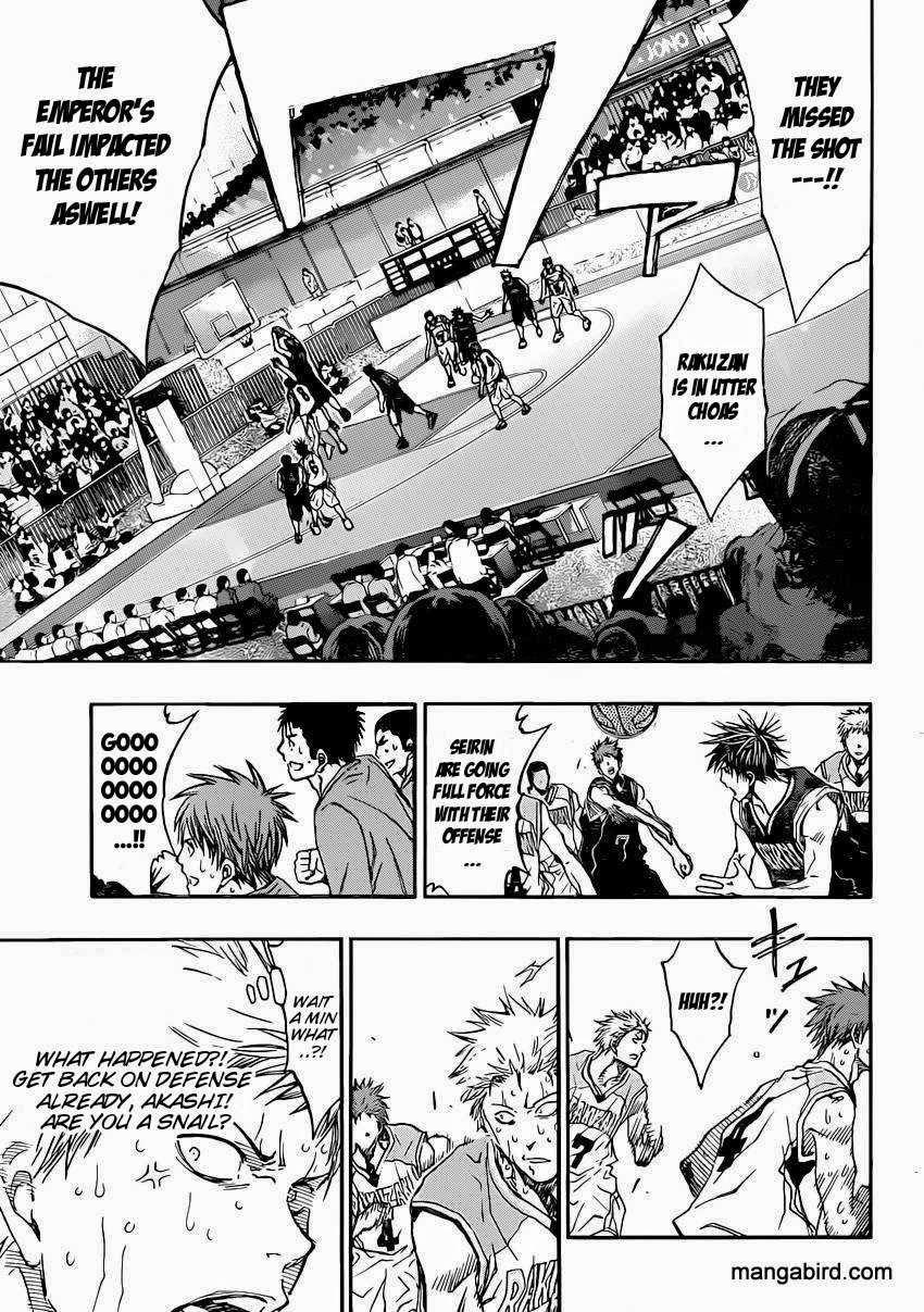 Kuroko no Basket Manga Chapter 265 - Image 11