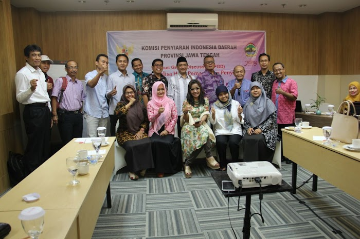 KPID Jateng Gandeng KPU dan Bawaslu Awasi Siaran Pemilu