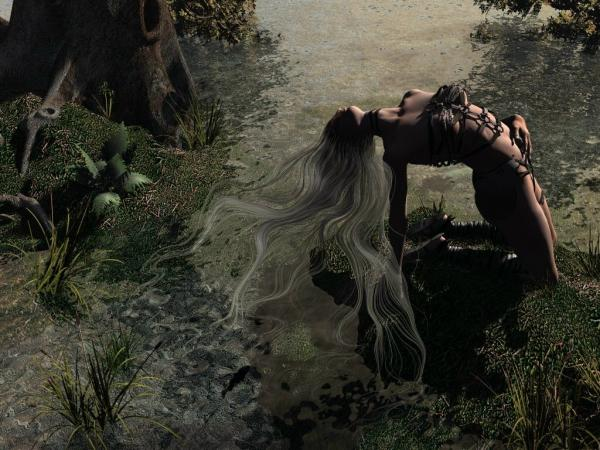 Beauty On Swamp, Gothic