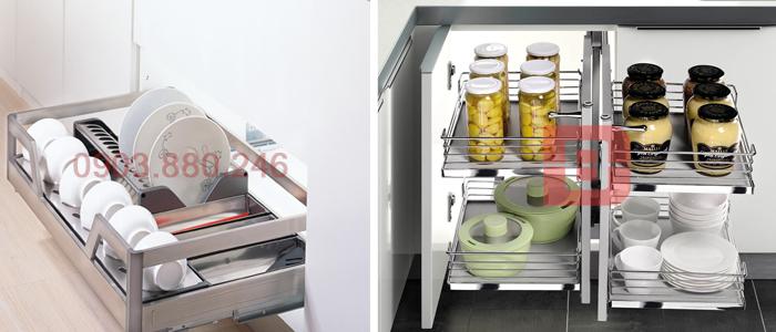 Chọn mua phụ kiện tủ bếp cùng các tiêu chí chuẩn không cần chỉnh