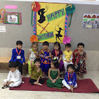 Dussehra Celebration by Pre-primary section, Witty World (2015-16)