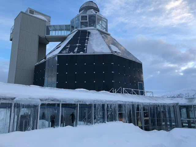 Stopped at Tromso Planetarium during our Viking Sky shore excursions (Source: Palmia Observatory)