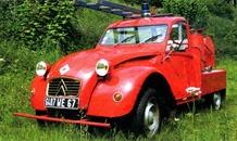 Citroën 1963 2 CV pick-up pompier