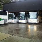 bussen op het terrein van Fassbender schijndel