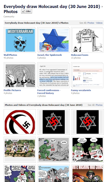 Facebook and rampant cyber anti-Semitism