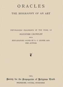 Cover of Aleister Crowley's Book Oracles