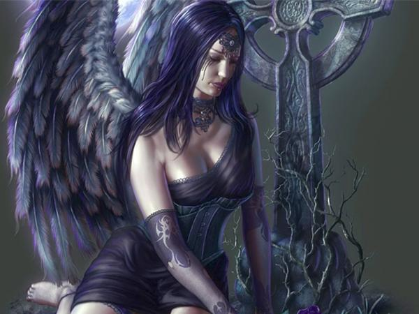 Black Angel On The Cemetry, Gothic