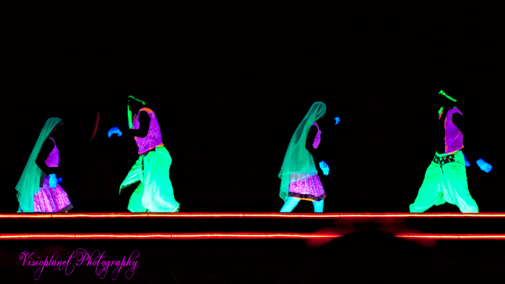 The Glow In The Dark Dancers by Sudipto Sarkar on Visioplanet