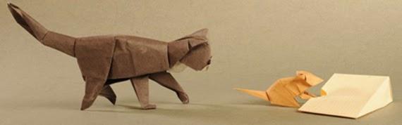Exposición 'Origami, un mundo en papel plegado'