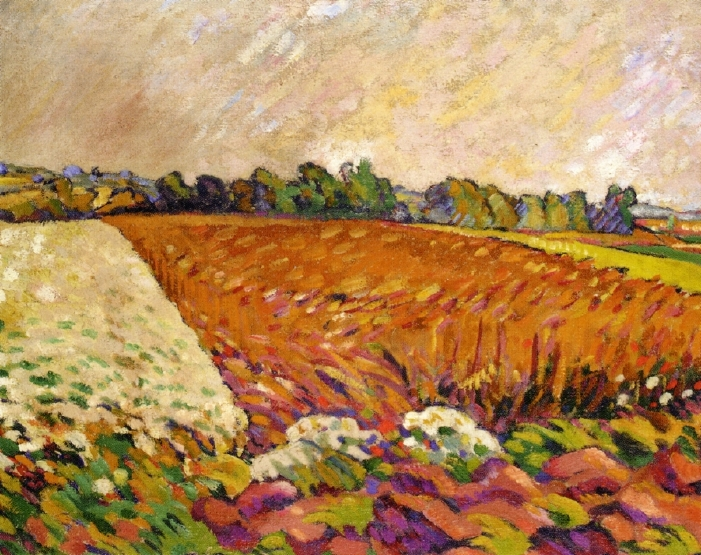 Louis Valtat - Field of Corn