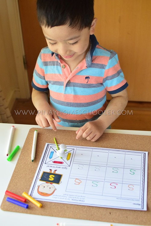 Alphabet Writing for Preschoolers