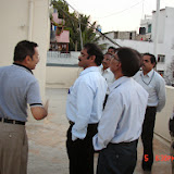 Demonstration of Amateur Radio Satellite communication to Mr Annadurai and Mr Raghavamurthy - DSC00129.JPG