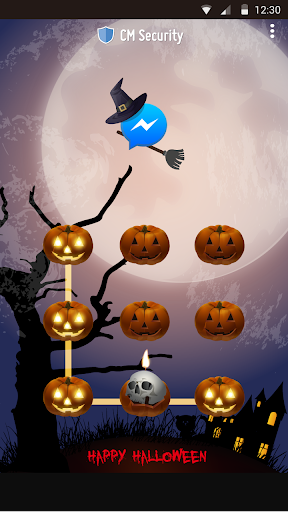 AppLock Theme Halloween screenshot 14