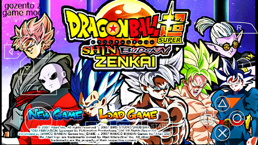 SAIU! Novo Dragon Ball Z Shin Budokai 2 MOD Super ZENKAI Para ANDROID / PPSSPP) +Download ISO)