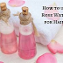 How to Use Rose Water To Prevent Dandruff & Moisturize the Hair