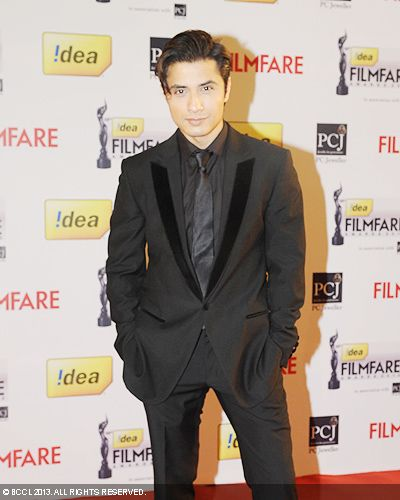 Ali Zafar looked handsome during the 58th Idea Filmfare Awards 2013, held at Yash Raj Films Studios in Mumbai.Click here for:<br />  58th Idea Filmfare Awards