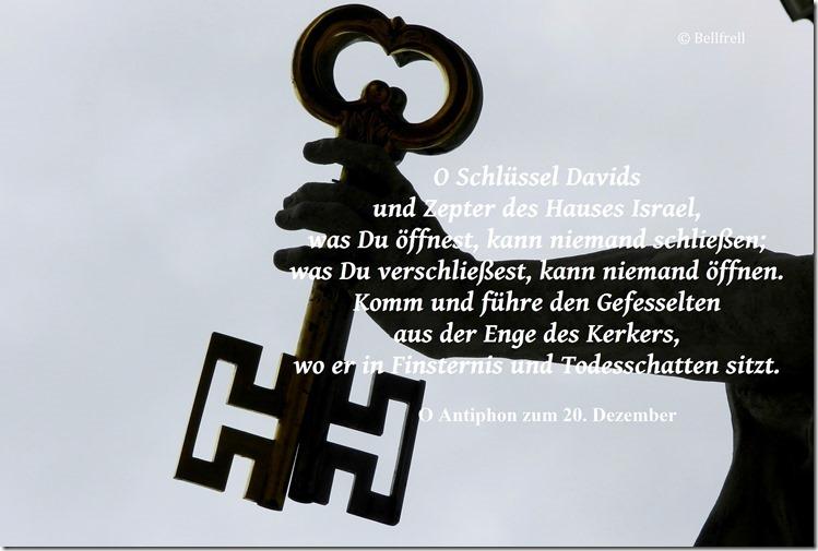 O Antiphon O Schlüssel 20.Dezember