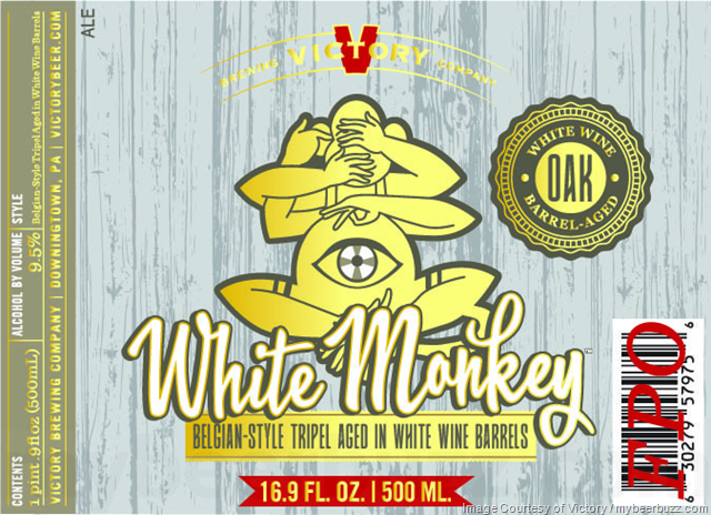 Victory White Monkey Returning In 500ml Bottles