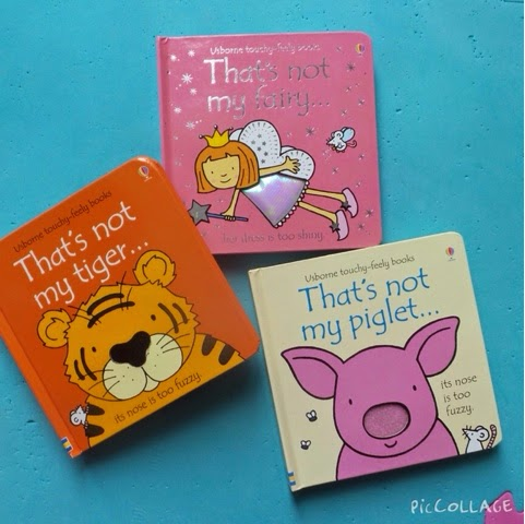 Touchy-feely baby books