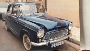1963 Simca Aronde P60 Elysee