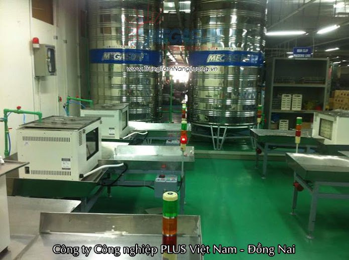 Công trình Công ty Công nghiệp PLUS Việt Nam - Đồng Nai
