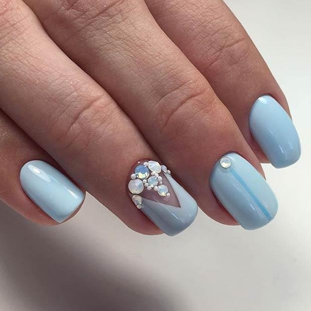 23+ Gorgeous Nail Art Ideas for Prom 2018 - Fashion 2D