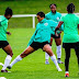 Photos From Super Falcon's Training Ground Ahead Of Today's Match With France