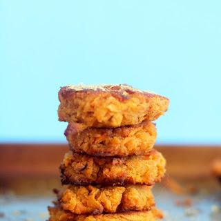 Mini Sweet Potato Fritters (V&GF).