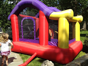 Photo: who doesn't love a bounce house