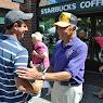 Senator Ball Tours Mt Kisco Sidewalk Fair September 10, 2012