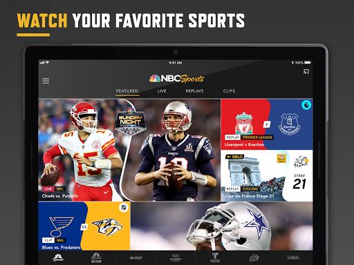 NBC Sports screenshot 11