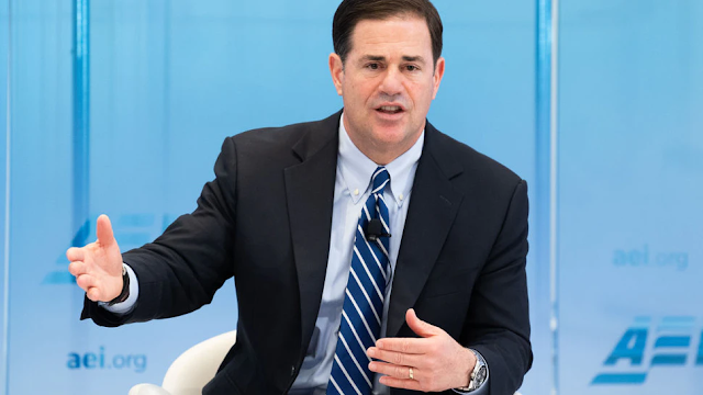 AZ Gov. Ducey On The Border Crisis: 'The Biden Administration Has Been Anti-Wall And AWOL'