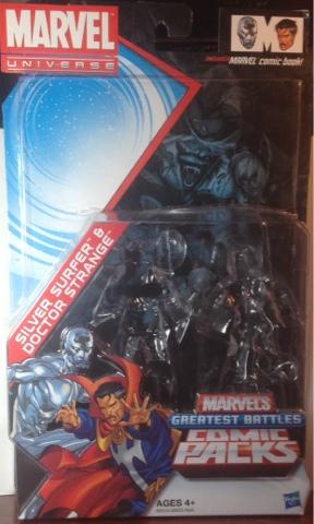 marvel universe greatest battles Silver Surfer /& Doctor Strange Comic 2-Pack NEW