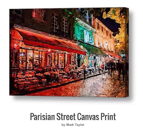 Parisian Street by M.A
