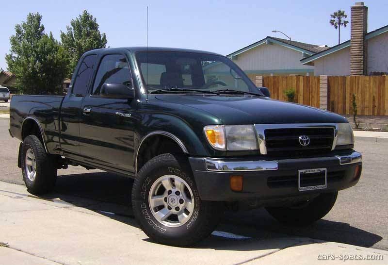 1998 Toyota Tacoma Base Extended Cab Pickup 2.7L 4 Cyl. 4×4 5 Speed Manual