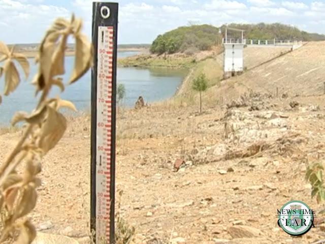 Nível de água nos açudes do Ceará é de 10%, aponta Cogerh
