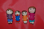 My Family in Clay by Jenna