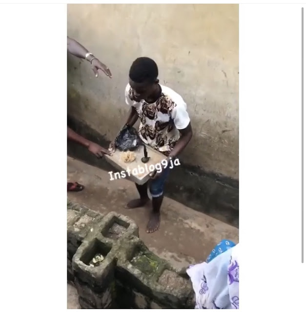 Young Carpenter Caught Trying To Use His Neighbors' Destinies For Money Ritual In Oyo