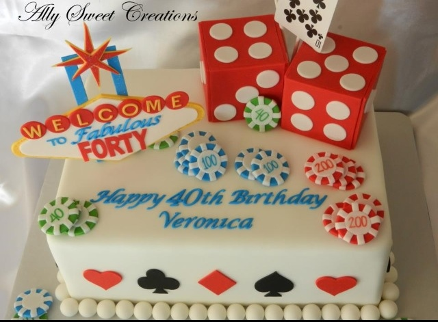 Casino Party Cake Ideas For Him