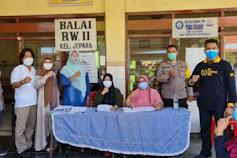 Sekretaris Komisi A DPRD Surabaya Budi Leksono Dampingi Giat Vaksinasi di Jepara Surabaya