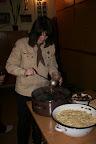bramborový salát a ryba a řízek a