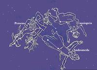 Κασσιόπη αστερισμός, kassiope constellation.