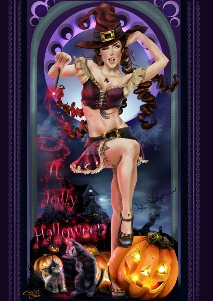 Jolly Halloween, Halloween